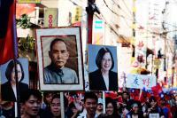 橫濱國慶遊行 中華民國萬歲響徹中華街