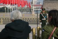 人民大會堂外 衛兵警戒(2)