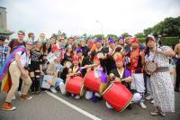 台灣同志遊行 外國人士也參與