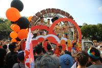 台灣同志遊行 民眾熱情參與