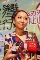 米希亞來台參與同志遊行 讚台灣一級棒