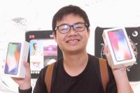 iPhone X在台開賣 民眾搶頭香
