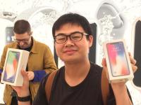 iPhone X開賣 台灣直營店他搶到頭香