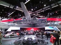 洛杉磯車展 展攤結合星際大戰