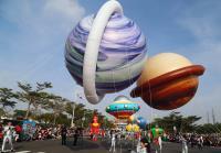 高雄大氣球遊行 週末午後歡樂登場
