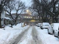 暴风雪袭纽约 皇后区降雪最多