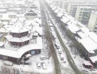 安徽老街大雪
