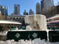 紐約逾10天冰點極寒低溫