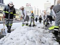 東京積雪23公分