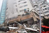 花蓮地震  雲門翠堤大樓內部悶燒(1)