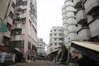 花蓮強震 國盛六街建築物傾塌
