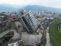 雲門翠堤大樓嚴重傾斜 全力搜救中