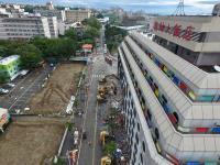 統帥大飯店展開拆除工程(1)