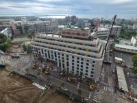 統帥大飯店展開拆除工程(3)