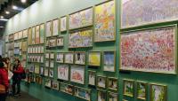 台北國際書展 繪本美術館插畫牆