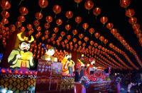 泰國暹邏代天宮 元宵燈會將登場