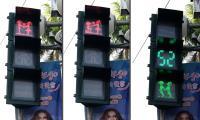 屏東求婚版紅綠燈正式啟用