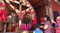 馬尼拉華人區十字架聖壇 香火鼎盛
