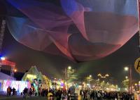 台灣燈會  懸空藝術燈區成最美地標