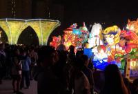 2018台灣燈會開幕 湧參觀人潮(2)