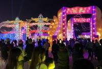 2018台灣燈會開幕 湧參觀人潮(1)