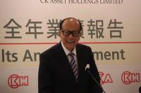 李嘉誠宣布退休 重心將在基金會工作