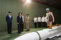 蔡總統測考海軍戰力(3)