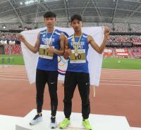 台小將新加坡田徑公開賽跳遠包辦金銀牌