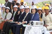 蔡總統赴史國醫院大樓建地聽取簡報