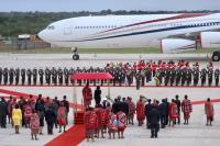 蔡總統結束史瓦濟蘭訪問行程 啟程返國