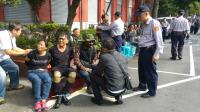 反軍人年改  警方對抗議民眾行使管束
