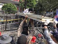 反軍人年改 退伍軍人團體抗議爆衝突(1)