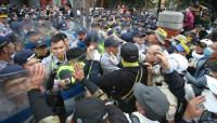 軍改案衝突 北市警局:30警11記者受傷