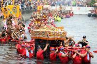 嘉義布袋衝水路迎客王祭典