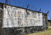 白色恐怖綠島紀念園區壁畫標語(3)