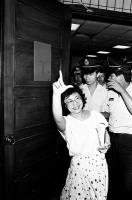 520農運 副總指揮蕭裕珍遭捕仍展露笑臉