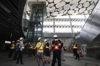 慶祝鐵路節 參訪高雄車站新建工程(1)