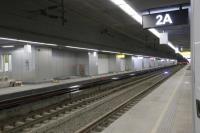 高雄鐵路工程 軌道由地上轉地下(2)