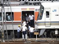 電車停駛乘客疏散