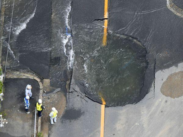 日本大阪強震  傷亡增為5死至少389傷