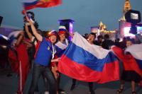 俄羅斯世足賽第二勝 球迷嗨翻天