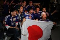 世足賽日本對戰波蘭 足球迷在東京加油