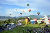 熱氣球升空 璀璨台東縱谷