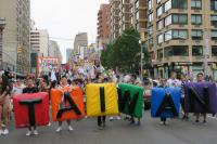 紐約同志驕傲遊行  台灣花車展現活力