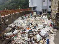 颱風過後滿目瘡痍 馬祖進行環境清理