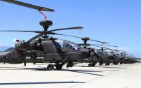 阿帕契直升机成军  场面壮观(1)