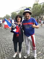 法國各地球迷齊聚巴黎  打算徹夜狂歡