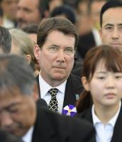 廣島原爆紀念典禮 美國駐日代表出席