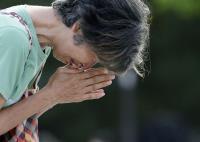 廣島原爆73週年 民眾悼念受難者
