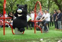 大灣草圳 大安森林公園啟用活水飛輪
